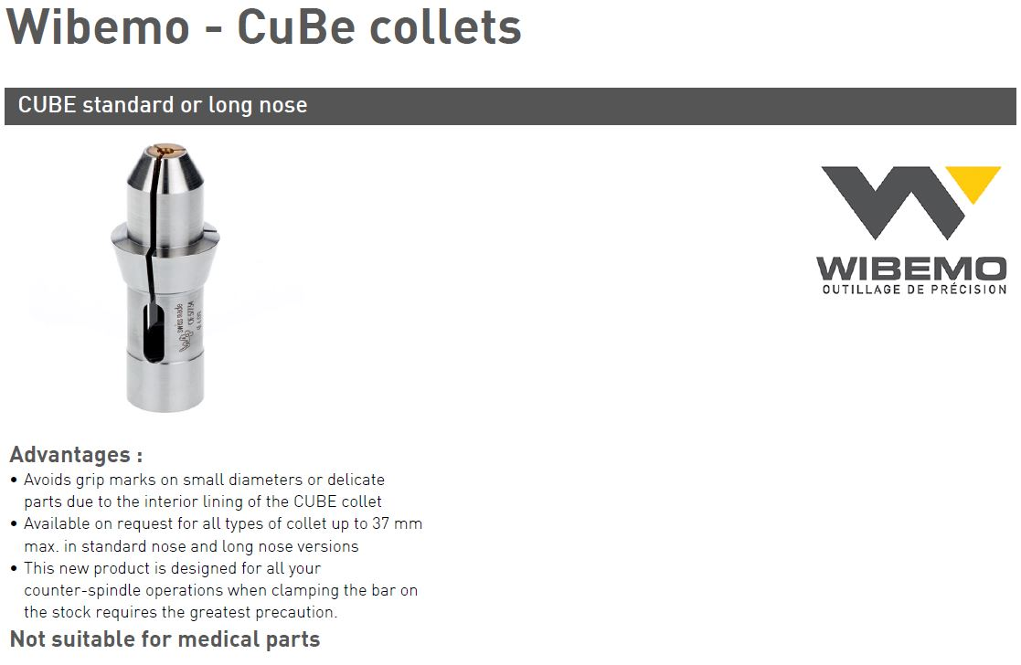 Cube Collets