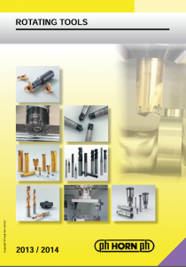 Milling Rotating Tool PHHorn Catalog Image