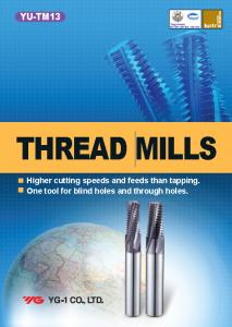 Thread Mills Catalog Image