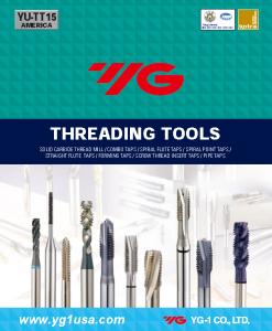 Threading Tools Catalog Image